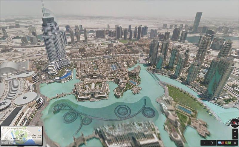 Illustration for article titled Ya puedes subir al edificio más alto del mundo con Google Street View