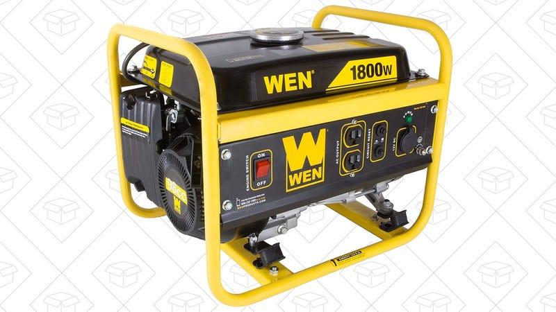 WEN 1500W Generator, $116