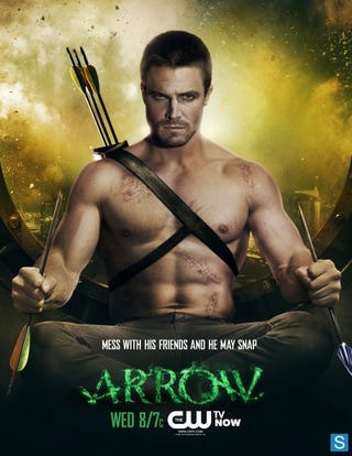 Illustration for article titled Arrow Promo Photos