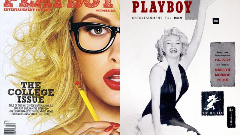 Completely nude pics in playboy