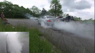 Birthday Burnouts are the best Burnouts