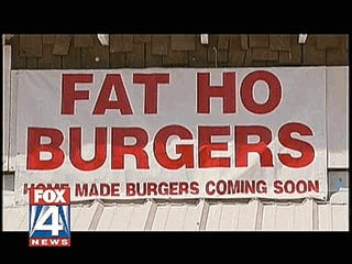 "Illustration for article titled ""Fat Ho Burgers"" Causes Uproar In Texas Town"