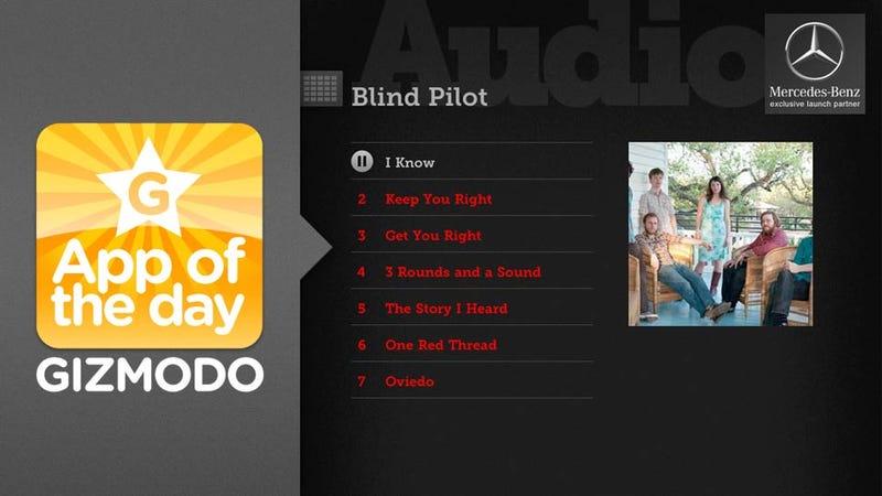 KCRW Music Mine for iPad: Play DJ for the World's Best Radio Station