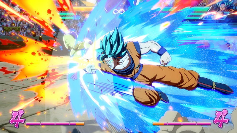 Illustration for article titled Dragon Ball FighterZ Looks Better Than The Anime