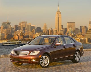Illustration for article titled Supercharged Four-Cylinder Mercedes C-Class Coming To America?