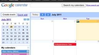 Illustration for article titled Most Popular Calendaring Application: Google Calendar