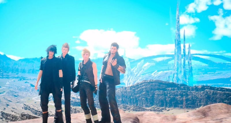 Illustration for article titled Final Fantasy XV Voice Actors Playing Their Own Game Is Excellent