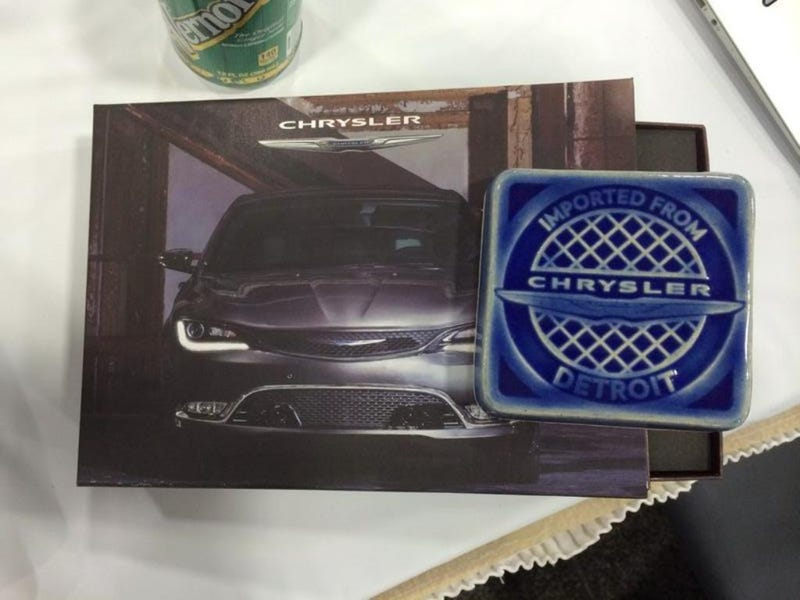 Illustration for article titled Chrysler Is Giving Away The Coolest Auto Swag Thus Far