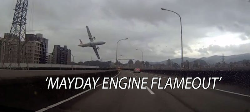 Illustration for article titled Massive Engine Failure Could Be To Blame In TransAsia Turboprop Crash