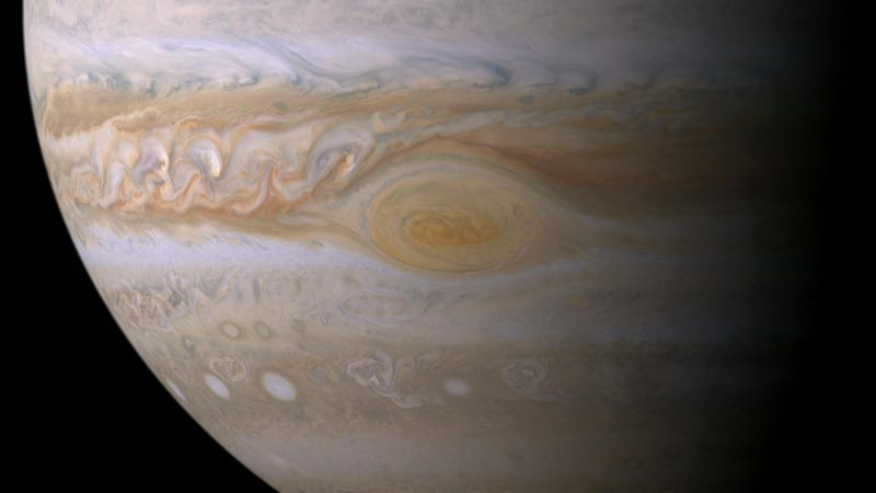 Jupiter's Great Red Spot Is About to Reveal Its Mysteries