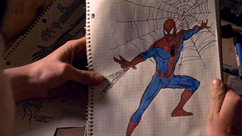 Illustration for article titled No comic-book movie captures the tone of its source material better than Spider-Man