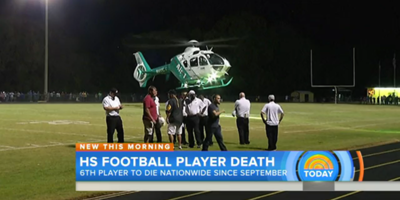 Illustration for article titled Texas High School Football Player Dies After Collapsing On Sidelines