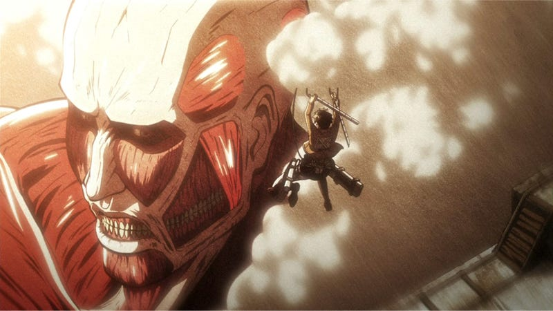 Illustration for article titled If Attack on Titan Starred Japanese Fashion Models