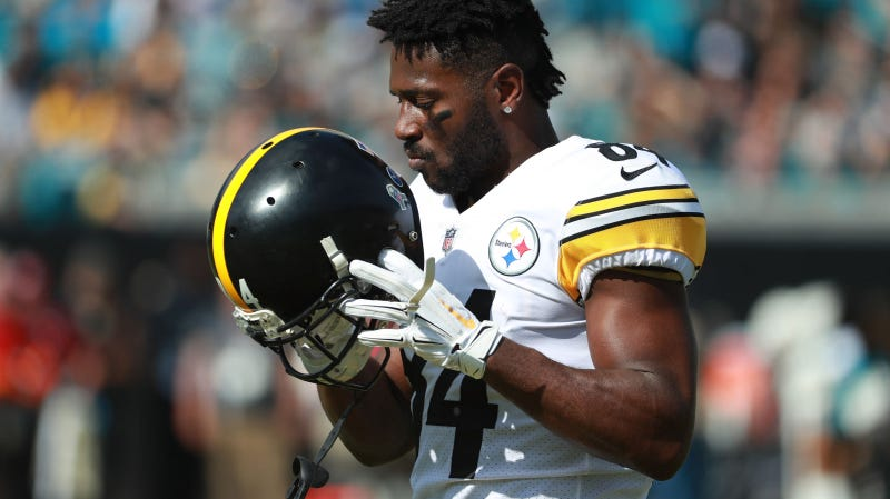 Illustration for article titled Lawsuit: Antonio Brown Raped Former Trainer [Update]