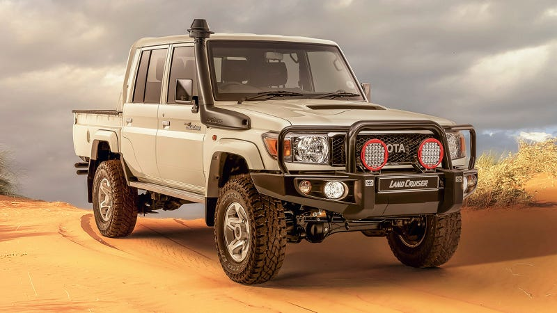Illustration for article titled The Best 2019 Toyota Land Cruiser Is Not For Sale In America, Of Course