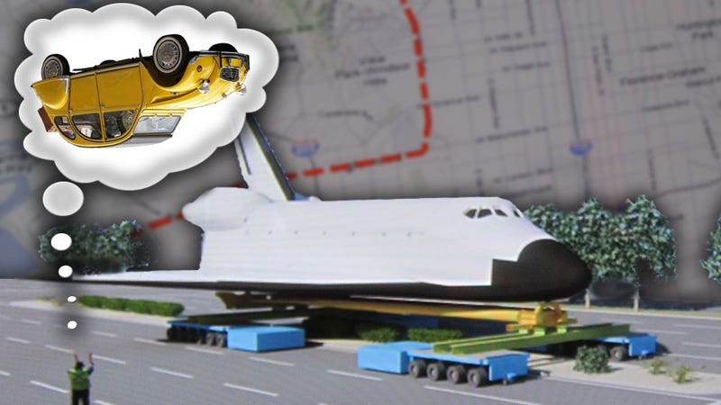 Illustration for article titled The Man In Charge of Moving The Shuttle Through LA Once Rolled A French Car