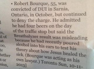 Illustration for article titled This Is The Best Excuse For Failing A Breathalyzer Test