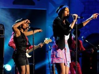 Solange Knowles performs during SXSW. (Sasha Haagensen/GettyImages)