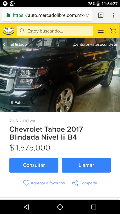 Thats a 2016 Tahoe listed at 80,000 dolars