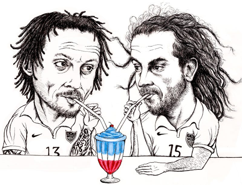 Illustration for article titled Once Foes, Are Beckerman And Jones The Key To USMNT Success?