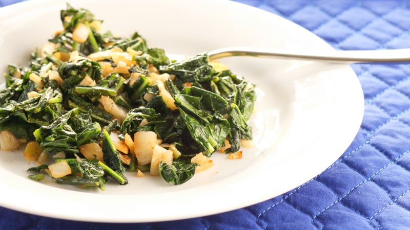 Finish Sautéed Greens With a Drizzle of Honey