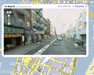 Illustration for article titled Google Maps adds Street View
