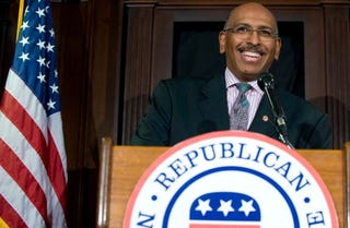 Michael Steele, the RNC's first African-American chair