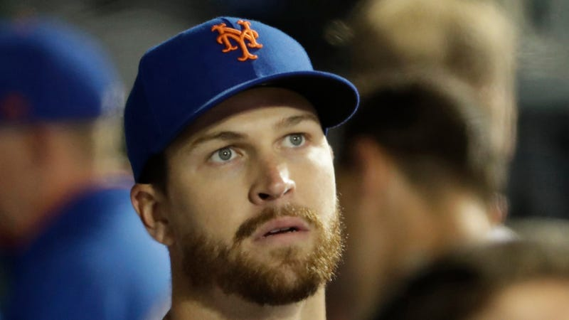 "The Mets Scrapped Jacob deGrom's MRI On His ""Barking"" Elbow Because He Felt Fine After Playing Catch"