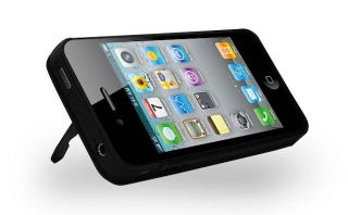 Illustration for article titled Turn Your iPhone 4 Into A Video-Watching Monster With This Kickstand Battery Case