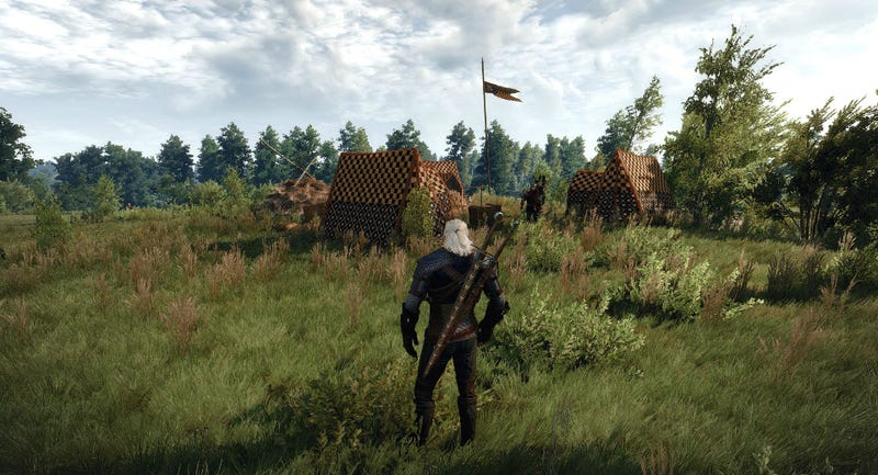 Illustration for article titled The Witcher 3 Already Has Some Useful Mods