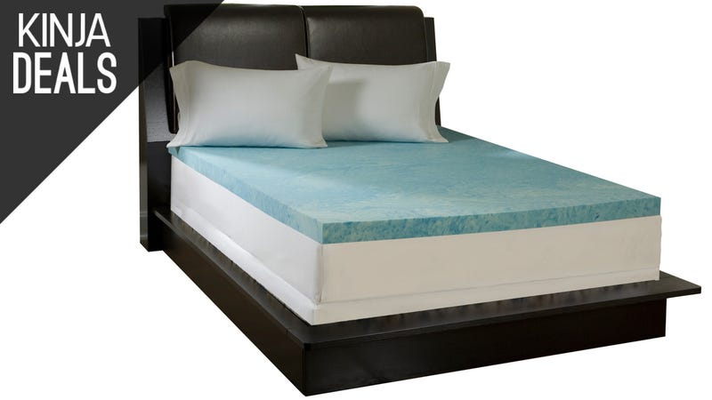 Illustration for article titled Give Your Mattress New Life With These Memory Foam Toppers