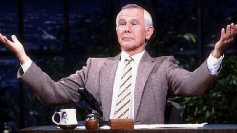 Illustration for article titled Johnny Carson's personal life, whatever that was, to form the basis of a new movie