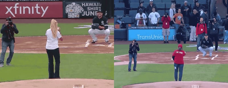 Chicago Photographer Heroically Avoids Being Retraumatized By Ugly First Pitch