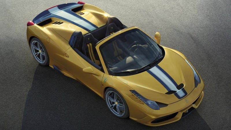 Illustration for article titled Ferrari 458 Speciale A: A 597 Horsepower Conveyance Of Pure Awesome