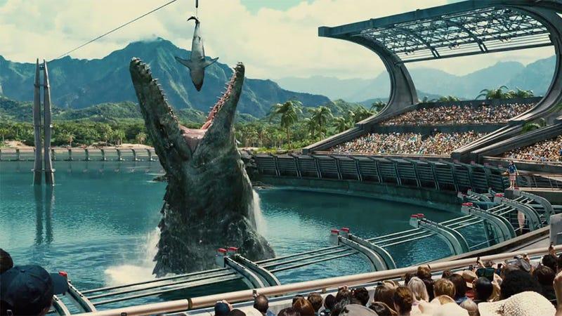 Illustration for article titled A Jurassic World úgy is zseniális, ha nem látod a vásznat