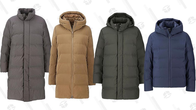 Men's and Women's Seamless Down Parkas | $100 | Uniqlo