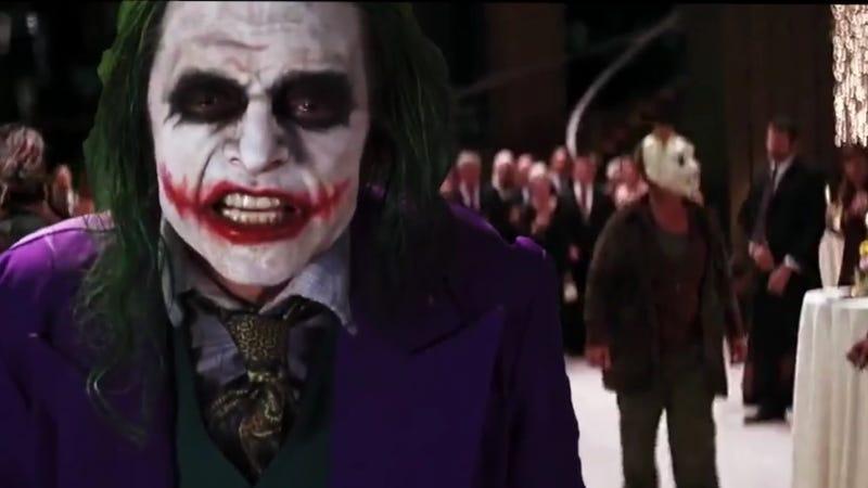 Someone edited Tommy Wiseau's Joker into The Dark Knight ...