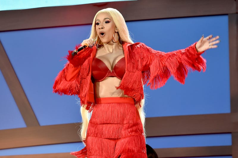 Cardi B performs onstage during the 2018 Global Citizen Festival: Be The Generation in Central Park on Sept. 29, 2018, in New York City.