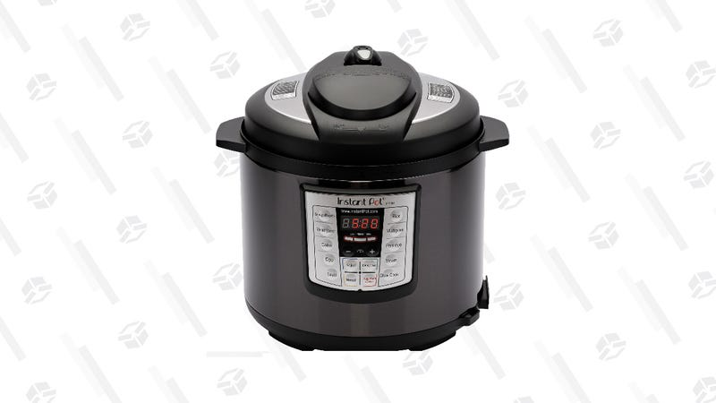 6 Qt. Instant Pot LUX60, Black Stainless Steel | $50 | Walmart