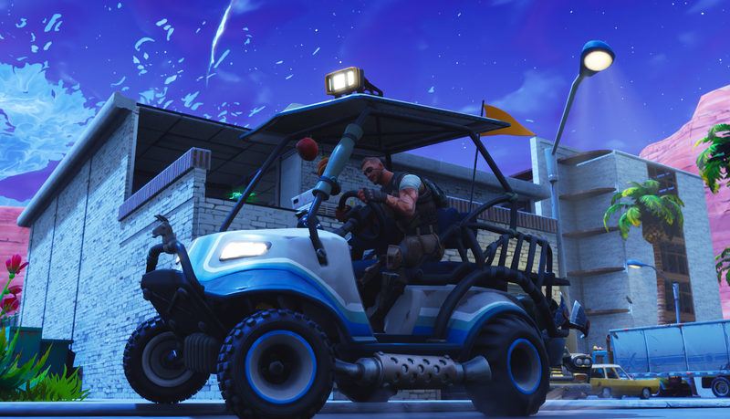 Illustration for article titled Fortnite Gets Golf Carts, Portals And A Desert With Season 5