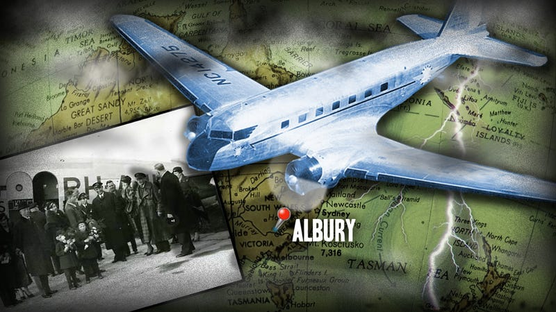 Illustration for article titled How One Australian Town Helped A Doomed Plane Win History's Greatest Air Race