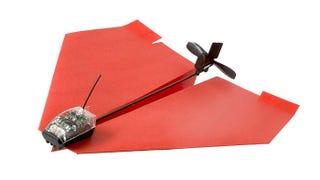 Illustration for article titled El avión de papel del millón de dólares se controla con un smartphone