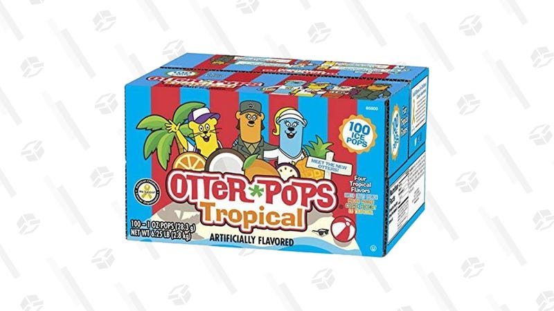 Otter Pops Tropical, 100-count | $11 | Amazon