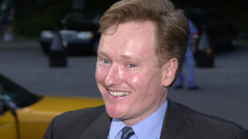 Illustration for article titled Conan O'Brien