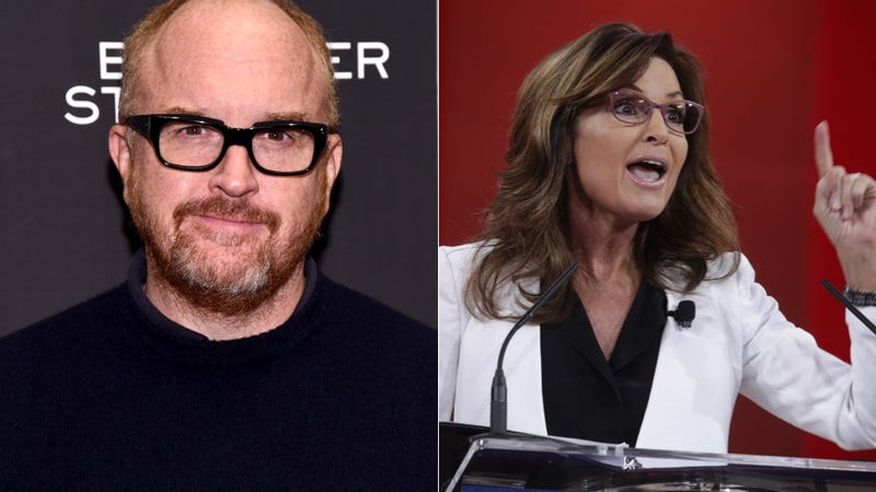 Illustration for article titled Sarah Palin Invites Louis C.K. on a Salmon-Slaying Alaska Adventure