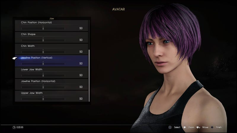 Illustration for article titled Final Fantasy XV's Multiplayer Has A Ridiculously Detailed Character Creator