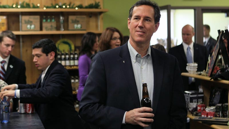 Illustration for article titled Tuesday Night Drinking Game:  Rick Santorum on The Tonight Show Edition