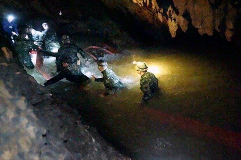 Illustration for article titled Thai Youth Soccer Team Found Alive After Being Lost In A Cave For Nine Days