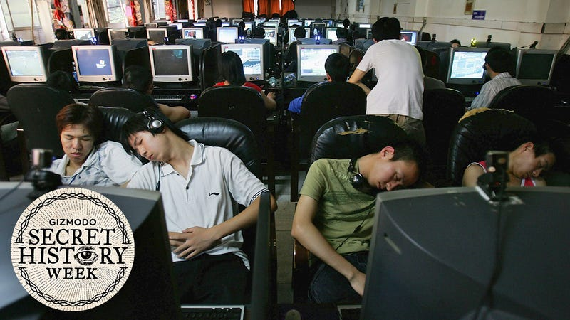 The Weird Sketchy History Of Internet Cafes