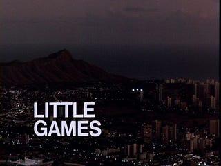 Illustration for article titled Little Games